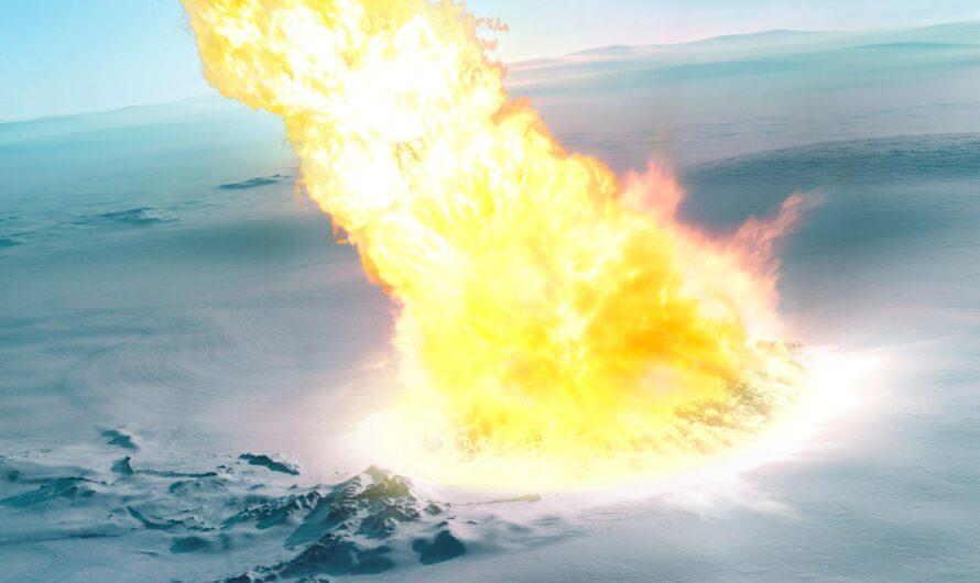 Около 430 000 лет назад над Антарктидой взорвался гигантский метеор