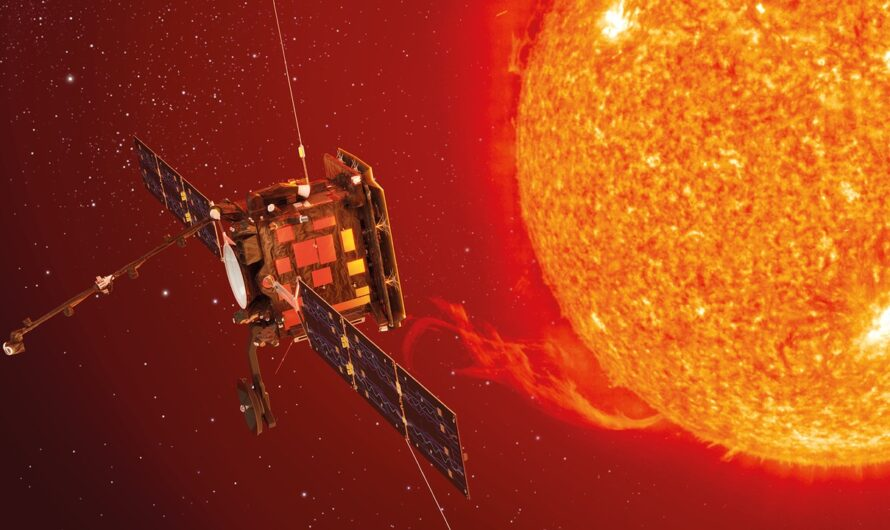 Зонд Solar Orbiter, изучающий Солнце, покрыт порошком из костей