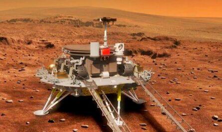 Китайский марсоход Zhurong совершил посадку на Марс