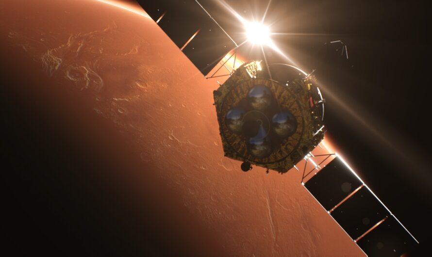 15 мая Китай попытается посадить на Марс модуль с ровером