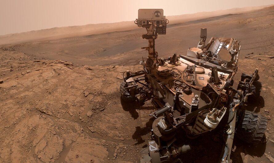 Марсоход NASA Curiosity обнаружил вероятные следы органических солей