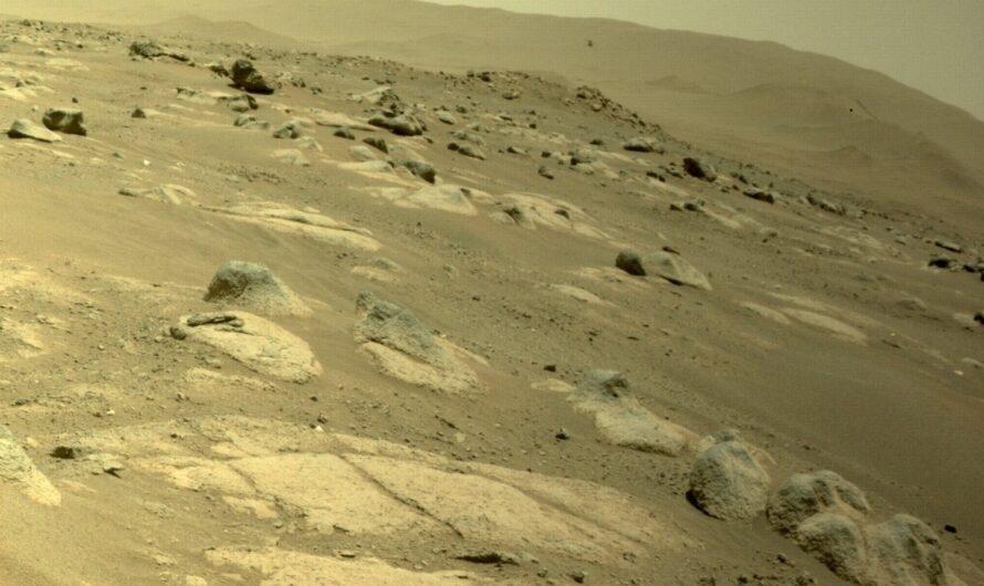 Вертолет NASA Ingenuity совершил четвертый полет над Марсом и побил собственные рекорды
