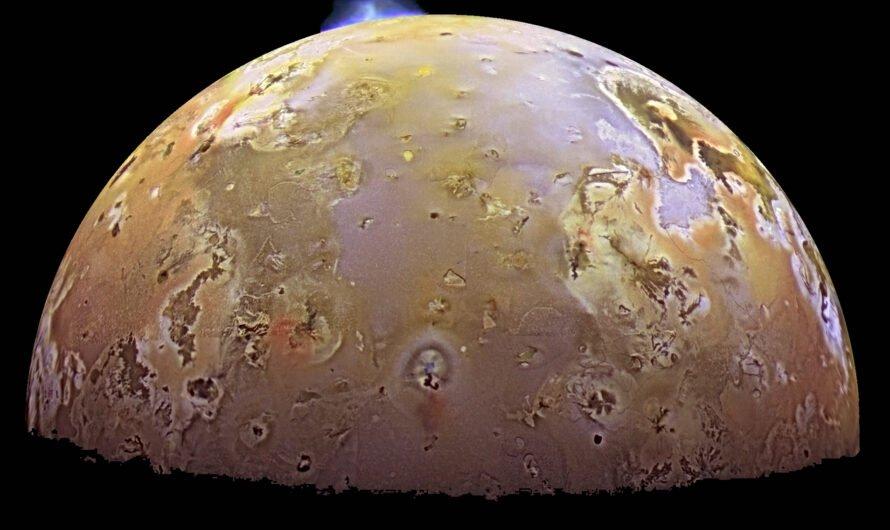 5 интересных фактов о спутнике Юпитера Ио