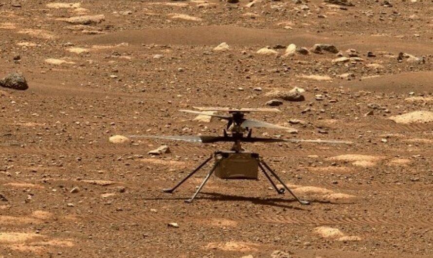 NASA опубликовало звуки полета марсианского вертолета Ingenuity