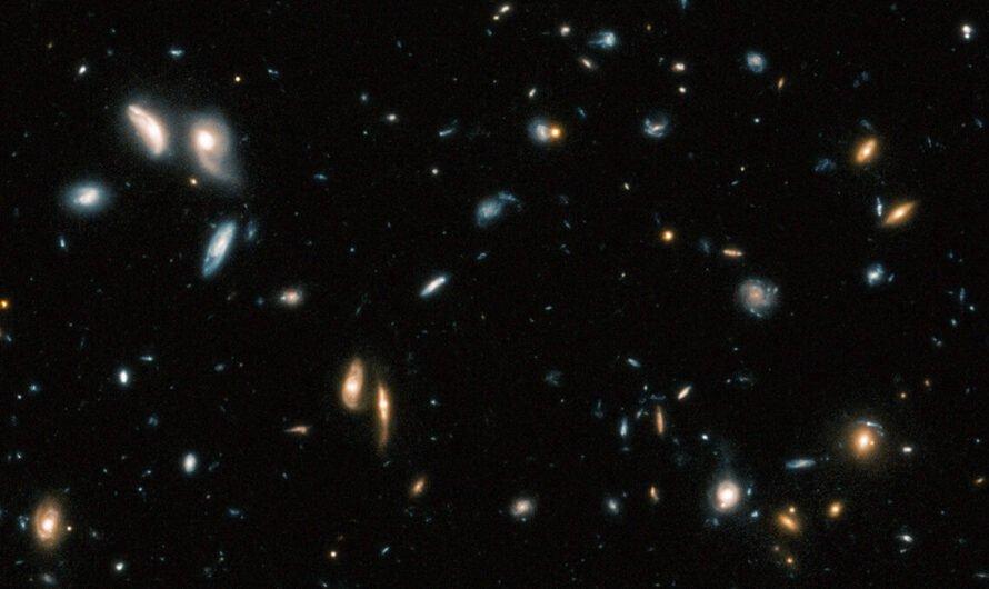 Hubble Legacy Field или 265 000 галактик на одном снимке