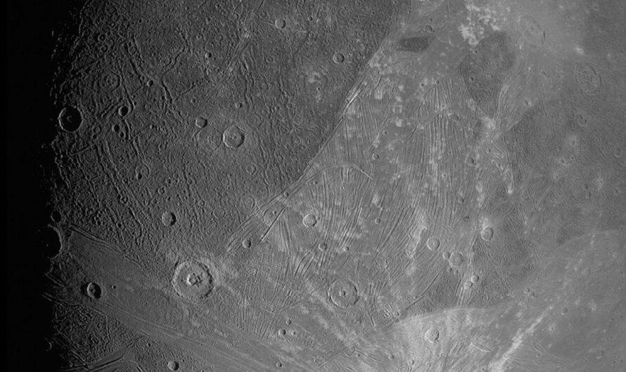 Получены самые детальные снимки Ганимеда, крупнейшего спутника Солнечной системы