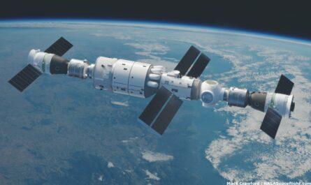 Китай отправил первых тайконавтов к космической станции Tiangong-3