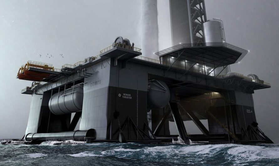 Океанский космодром «Деймос» SpaceX будет запущен в 2022 году