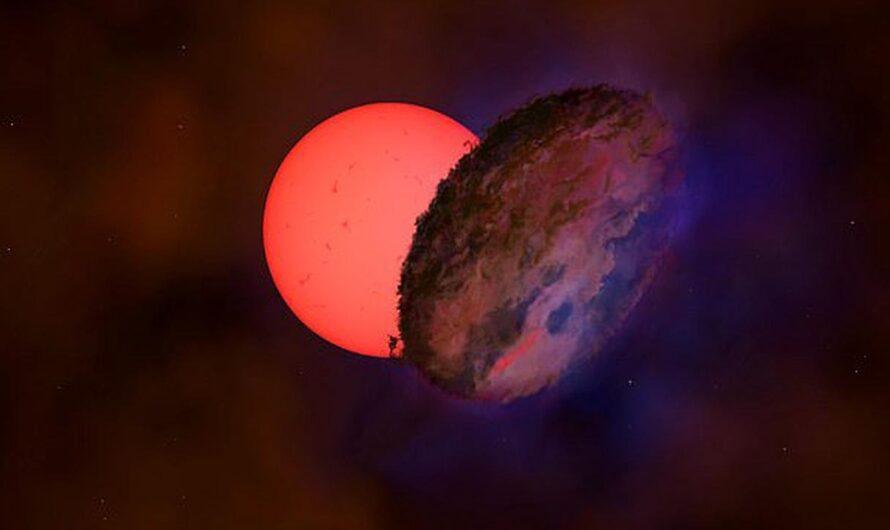 Ученые озадачены «мигающим гигантом» рядом с центром Млечного Пути