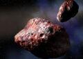 Два красных объекта были найдены в поясе астероидов, но их там быть не должно.