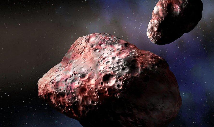 Два красных объекта были найдены в поясе астероидов, но их там быть не должно