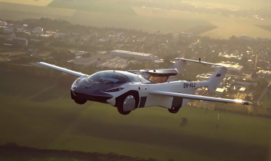 Прототип летающего автомобиля AirCar преодолел более 80 километров