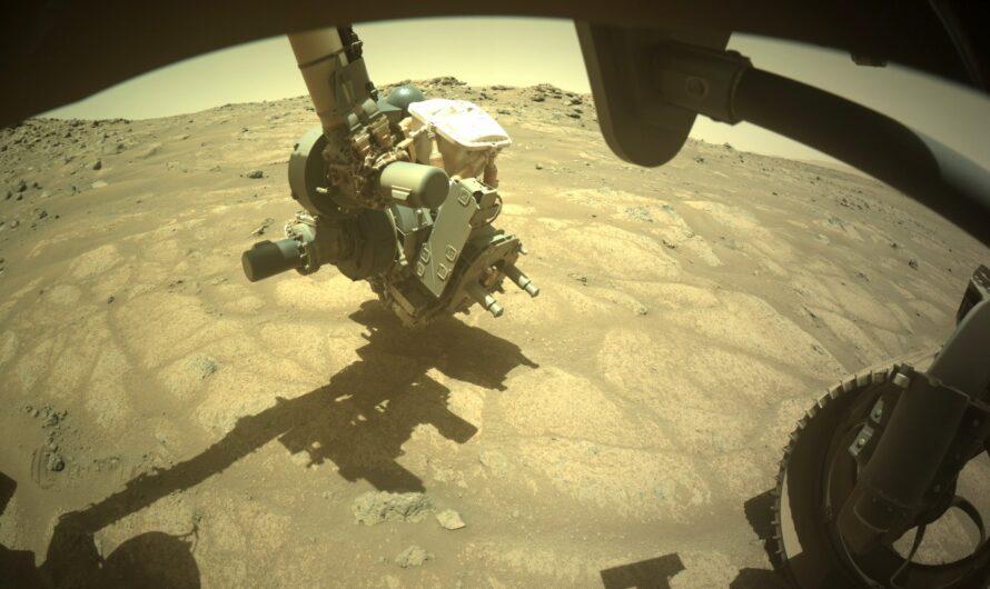 Марсоход NASA Perseverance обнаружил камень, похожий на «садовую брусчатку»