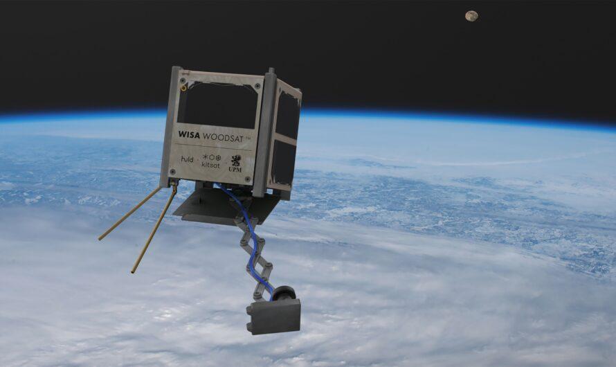 Первый в мире деревянный спутник WISA Woodsat будет запущен на орбиту к концу 2021 года