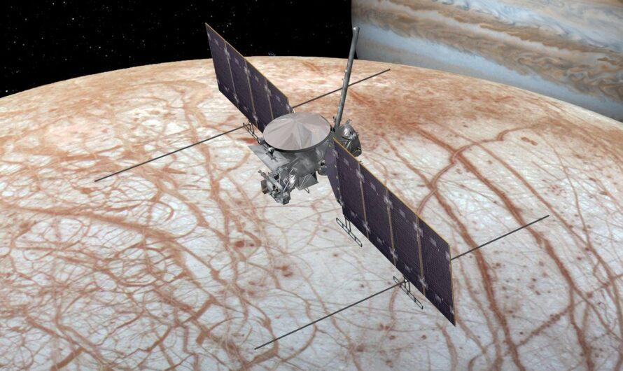NASA выбрало SpaceX для запуска миссии Europa Clipper к спутнику Юпитера