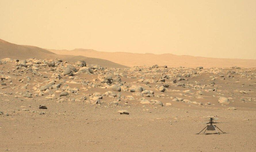 Марсианский вертолет NASA Ingenuity совершил самый длинный и высокий полет
