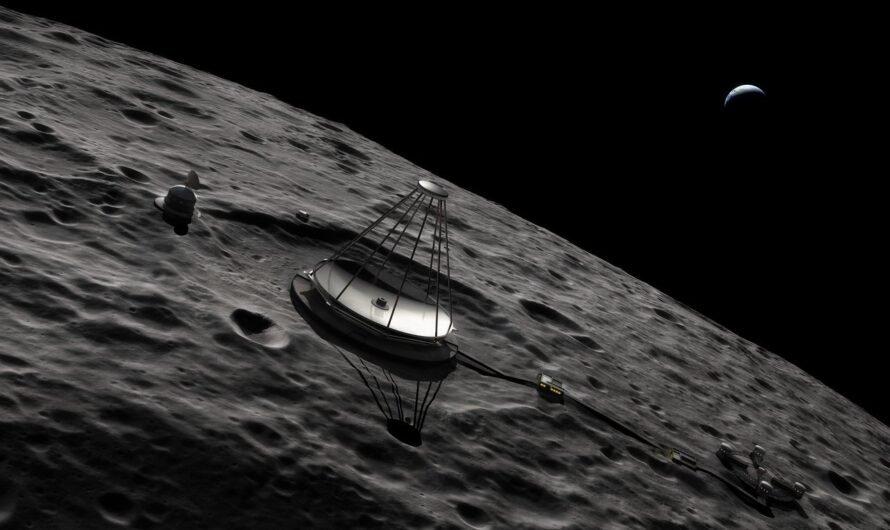 На Луне будет размещен 100-метровый телескоп с жидким зеркалом