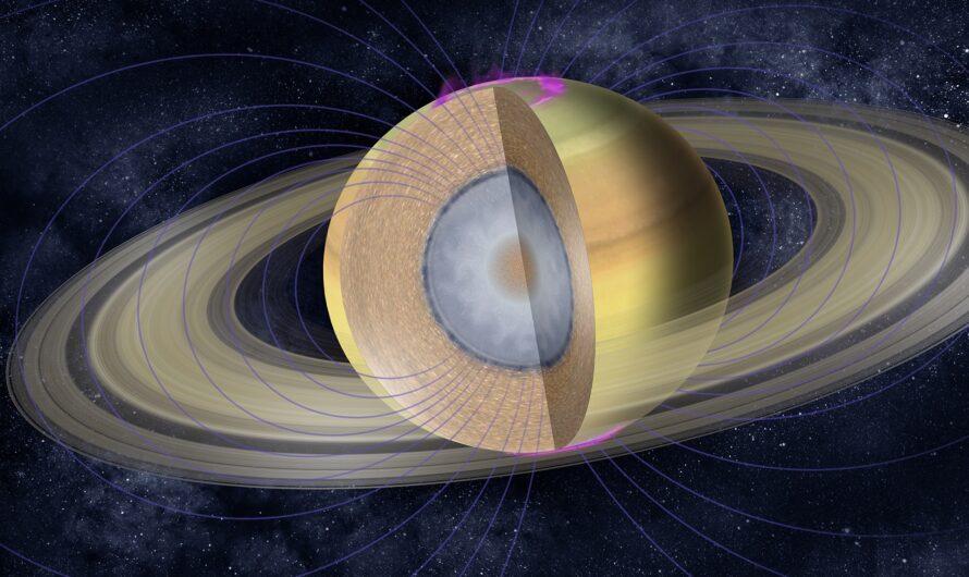 Рябь в кольцах Сатурна рассказала о строении ядра газового гиганта