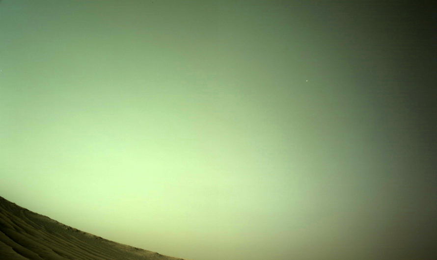 NASA Perseverance показал марсианский спутник Деймос