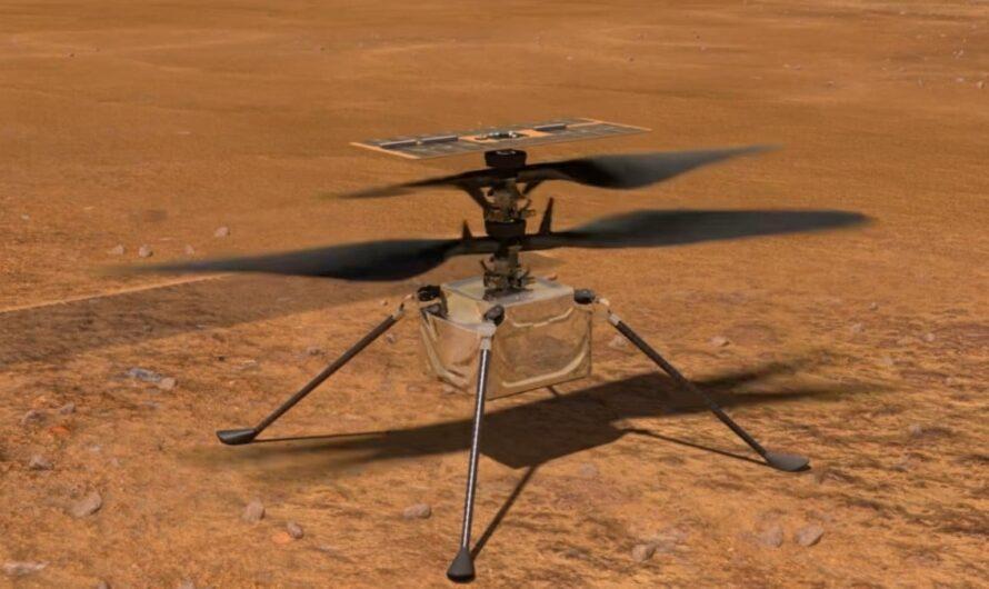 Марсианский вертолет NASA Ingenuity совершил 11-й полет, поднявшись на рекордную высоту