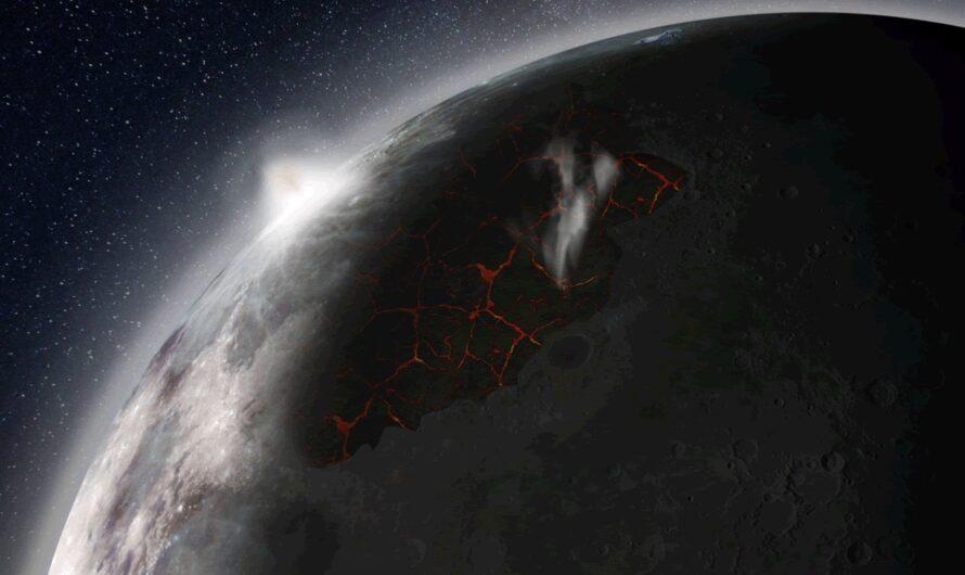 В далеком прошлом у Луны была атмосфера