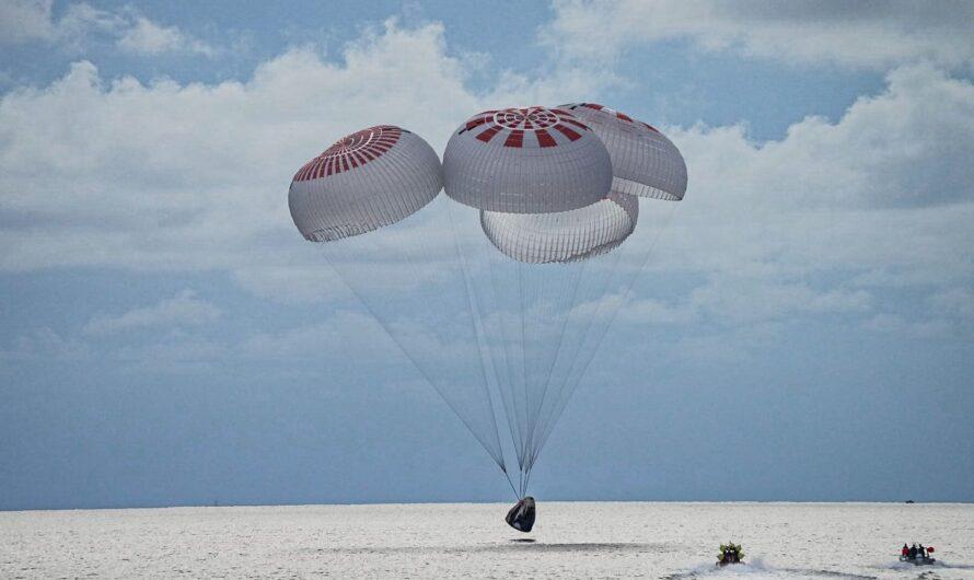 SpaceX Inspiration4: туристы вернулись на Землю