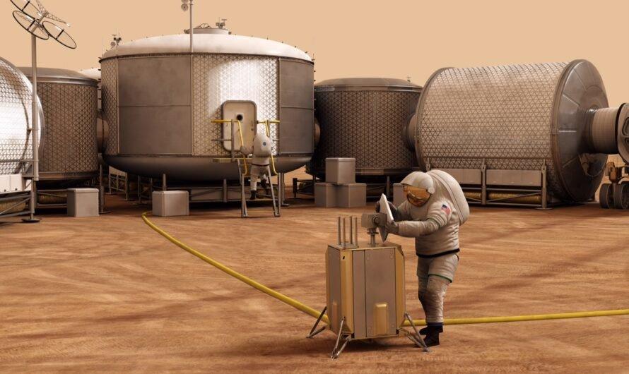 Новая технология сможет превращать марсианский воздух в топливо