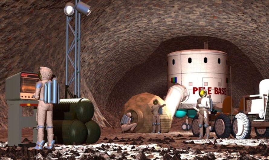 Марсианские пещеры могут надежно защищать от опасного излучения