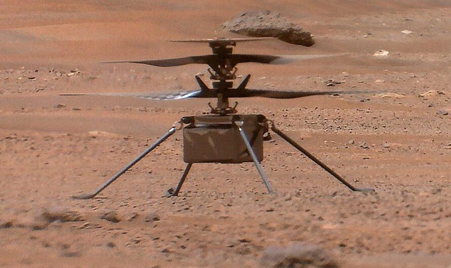 Китай работает над клоном марсианского вертолета NASA Ingenuity