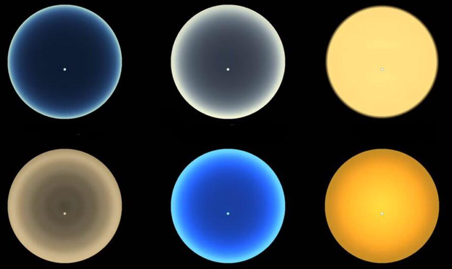 NASA показало, как выглядят закаты на Венере, Марсе, Уране, TRAPPIST-1e и Титане