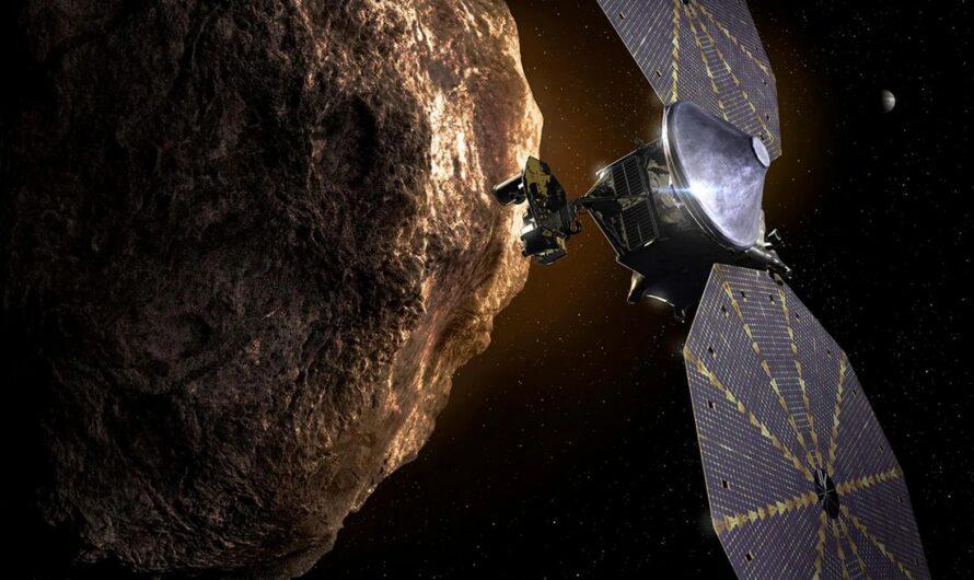 NASA запустило космический аппарат «Люси» для изучения троянских астероидов