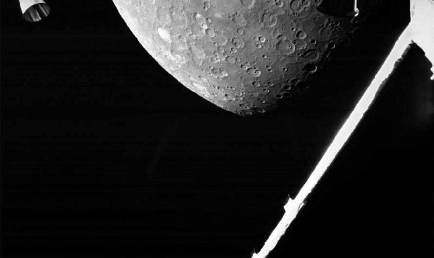 Космический аппарат ESA/JAXA BepiColombo пролетел возле Меркурия